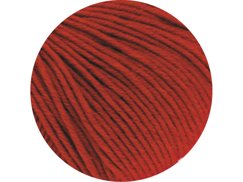 Cool Wool Big Mèlange  Farbe 0302 Rot meliert