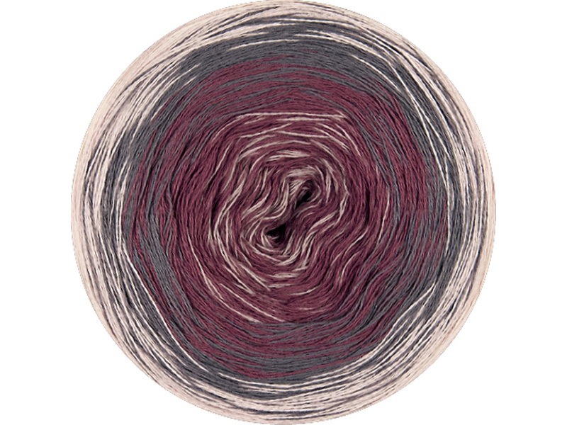 Shades of Cotton  Farbe 0104 Rosa Dunkelgrau Burgund Puder