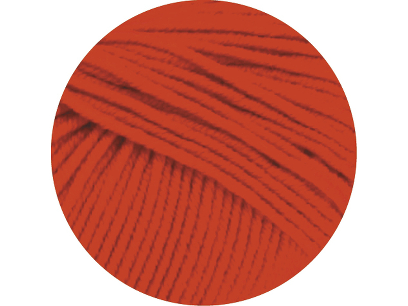 Cool Wool Big  Farbe 0923 Leuchtendrot