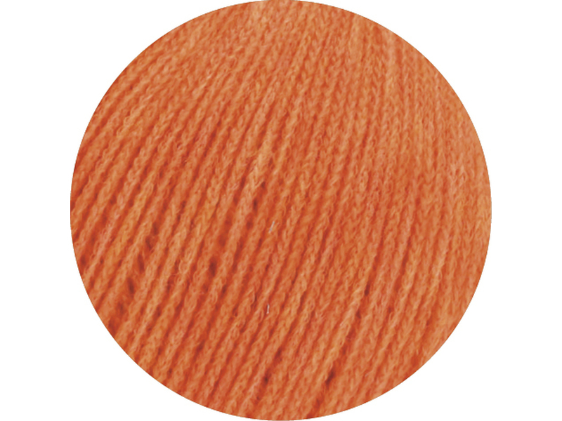 Cashmere 16 Fine Orange Farbe 0030