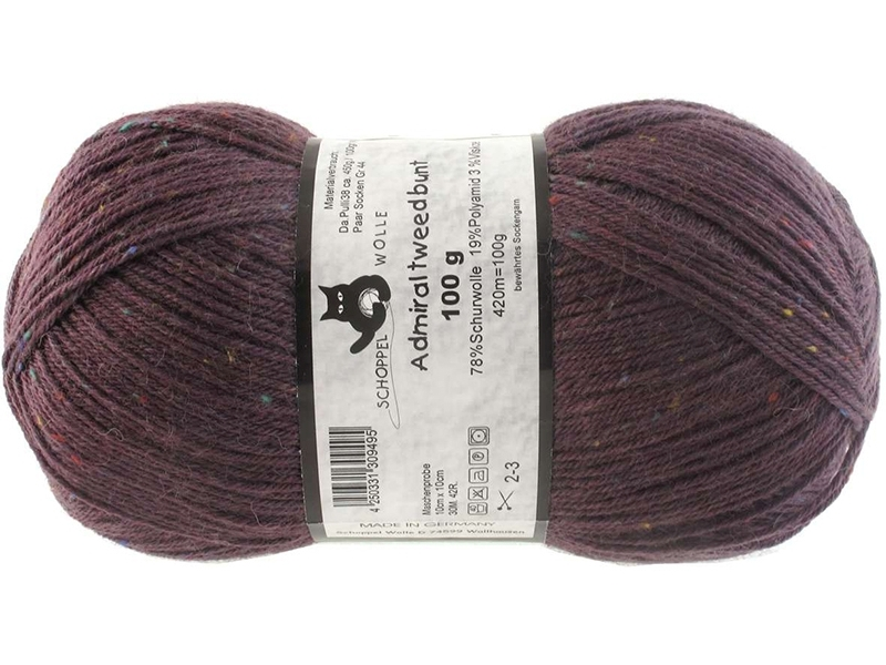 Admiral Tweed Farbe 1873 Pflaume