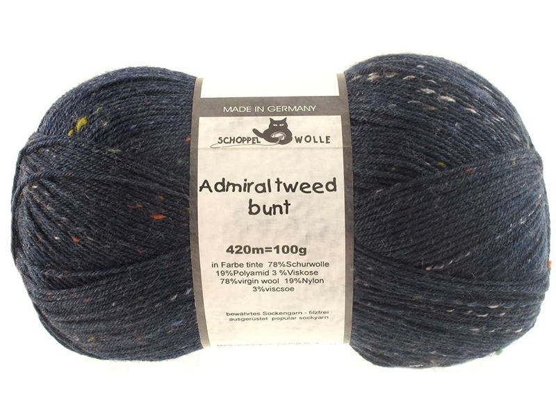 Admiral Tweed Farbe 3593 Tinte