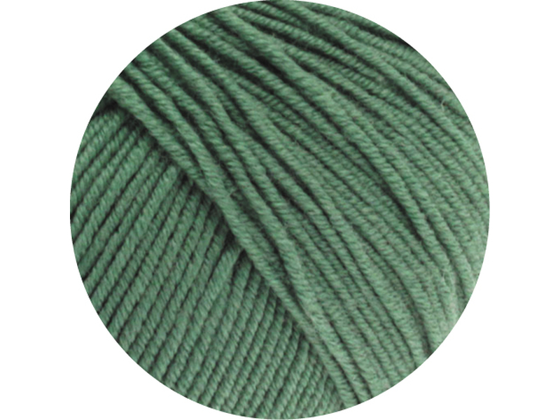 Cool Wool Farbe 2021 Dunkles Graugrün