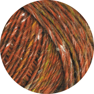 Only Tweed Rotbraun Oliv Natur Anthrazit Farbe 0105