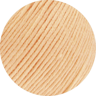 Lana Grossa SOFT COTTON Farbe 001 Apricot